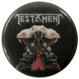 Testament - 'Brotherhood' Button Badge